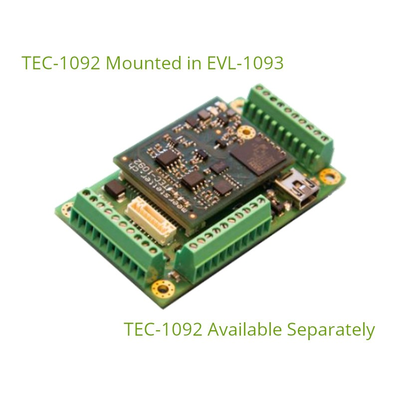 Evaluation Board with Compact OEM TEC Controller