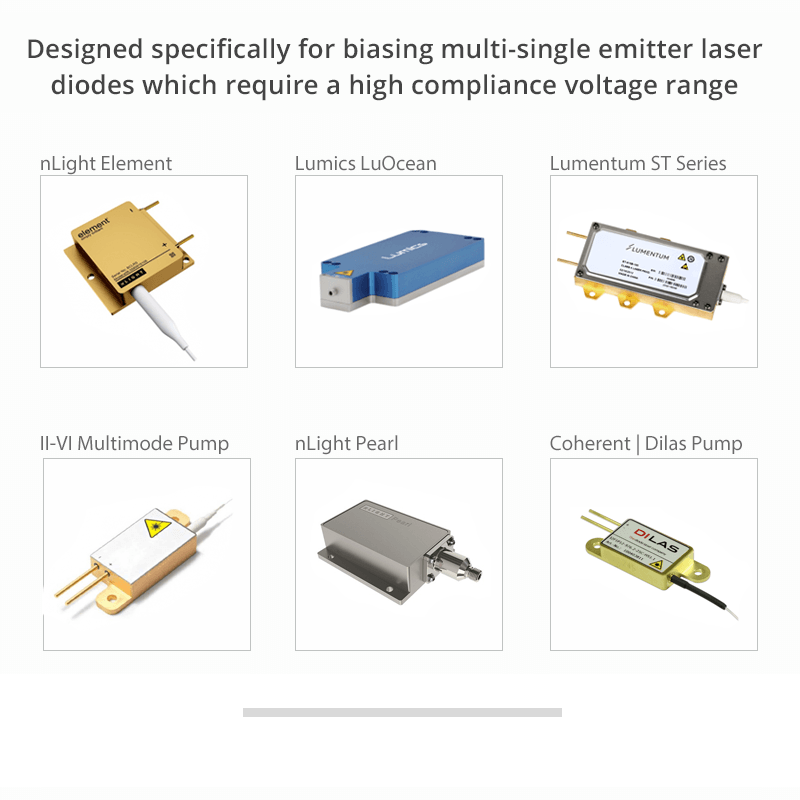 laser diode driver high power overview features
