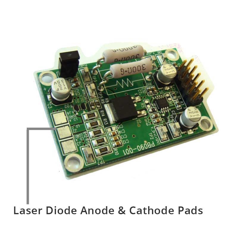 20 Amps 12 Volt Pulsed Nanosecond Laser Driver From Trimatiz